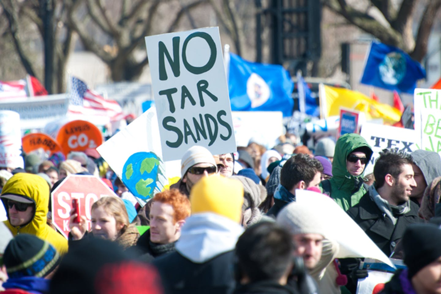 no tar sands protest washington