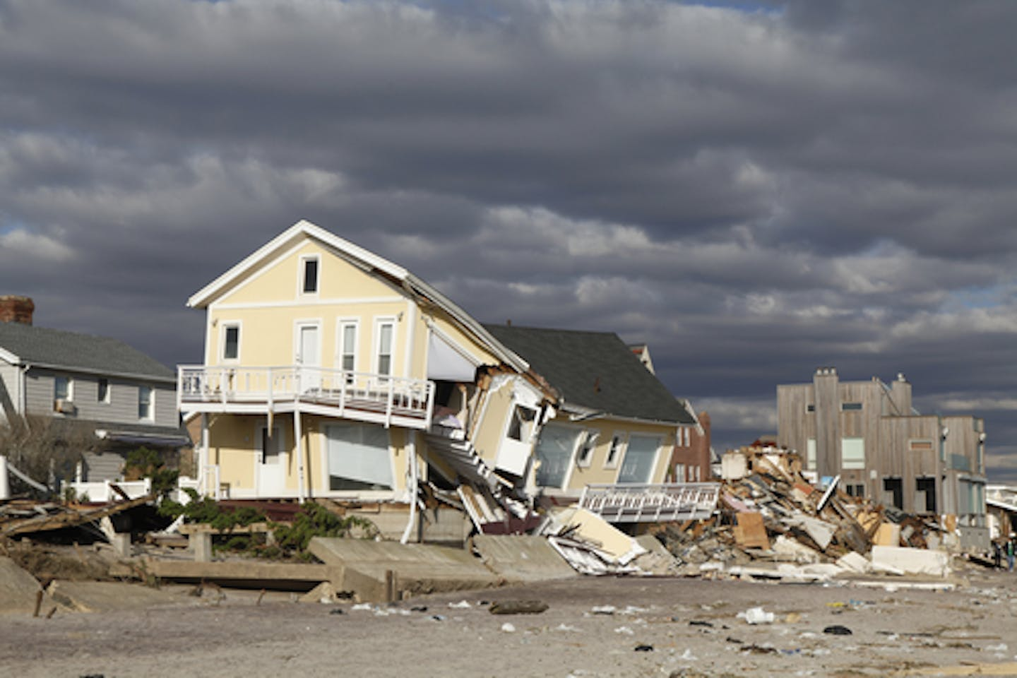 Hurricane Sandy devastation