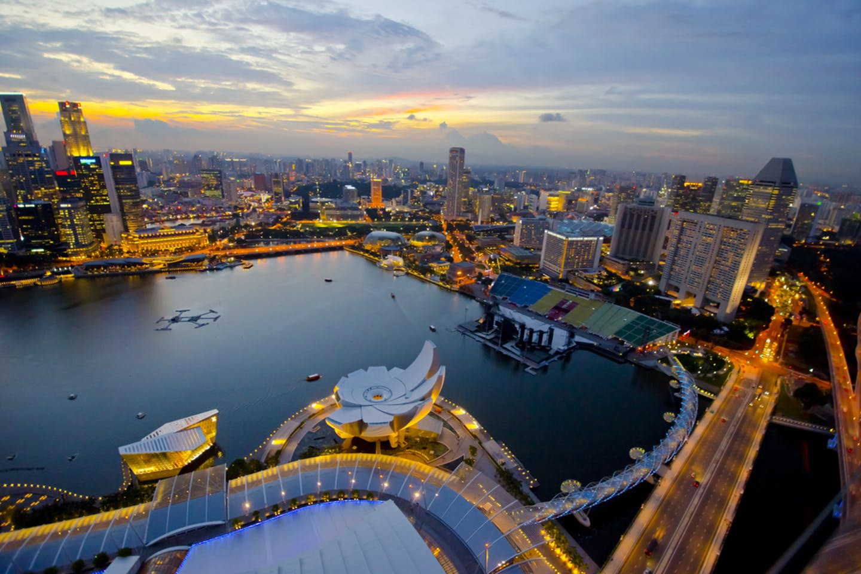 Singapore skyline global opportunity