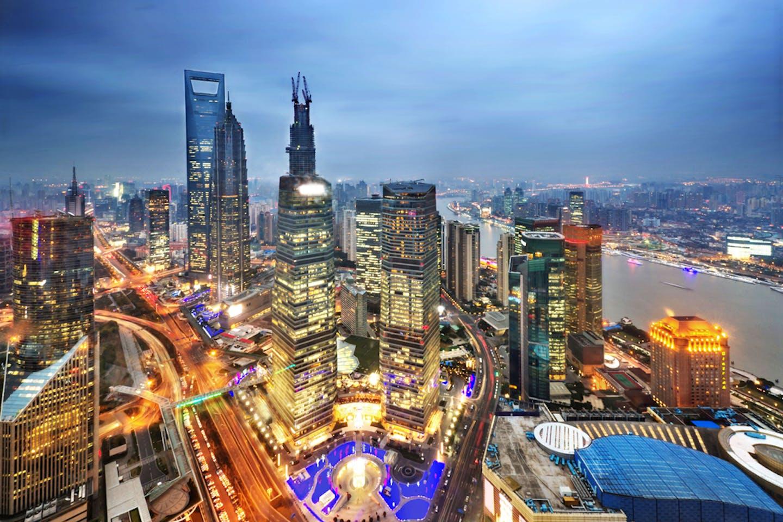 lujiazui shanghai china