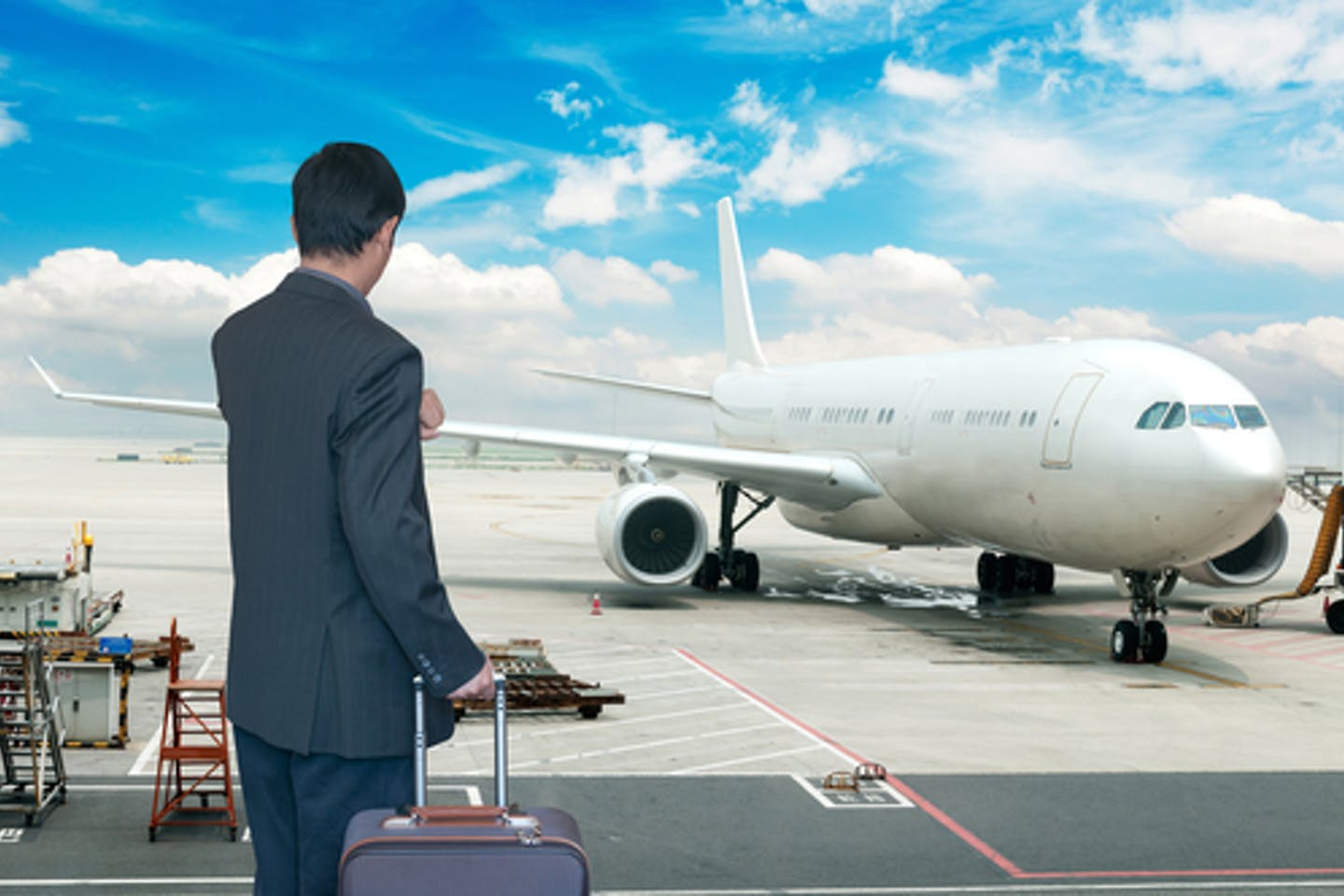 business air travel emissions