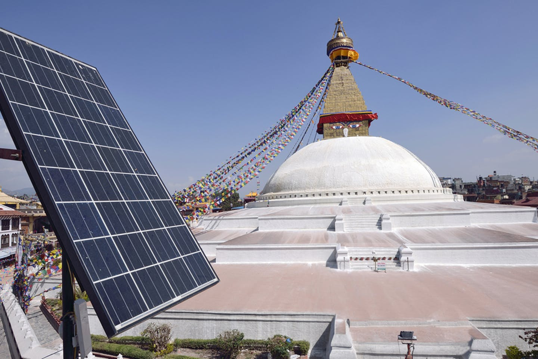 solar stupa