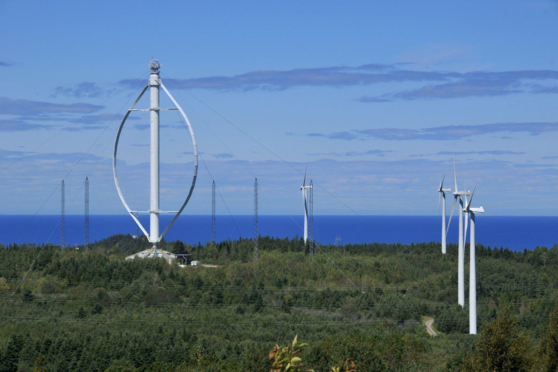 vertical wind turbine canada