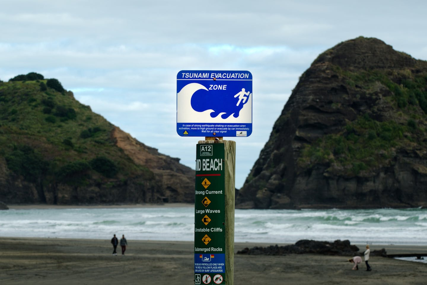 tsunami warning nz