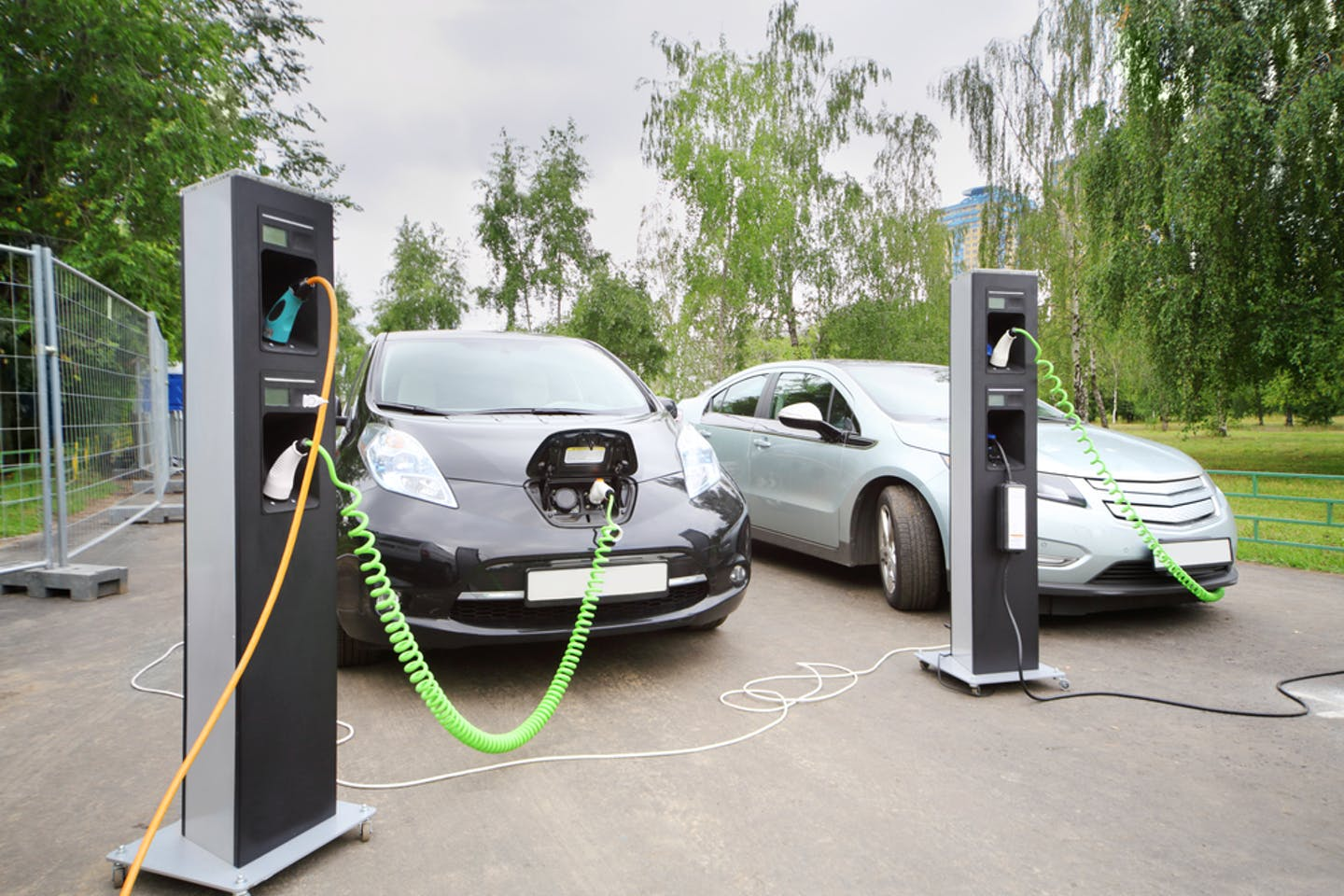 evs charging in russia