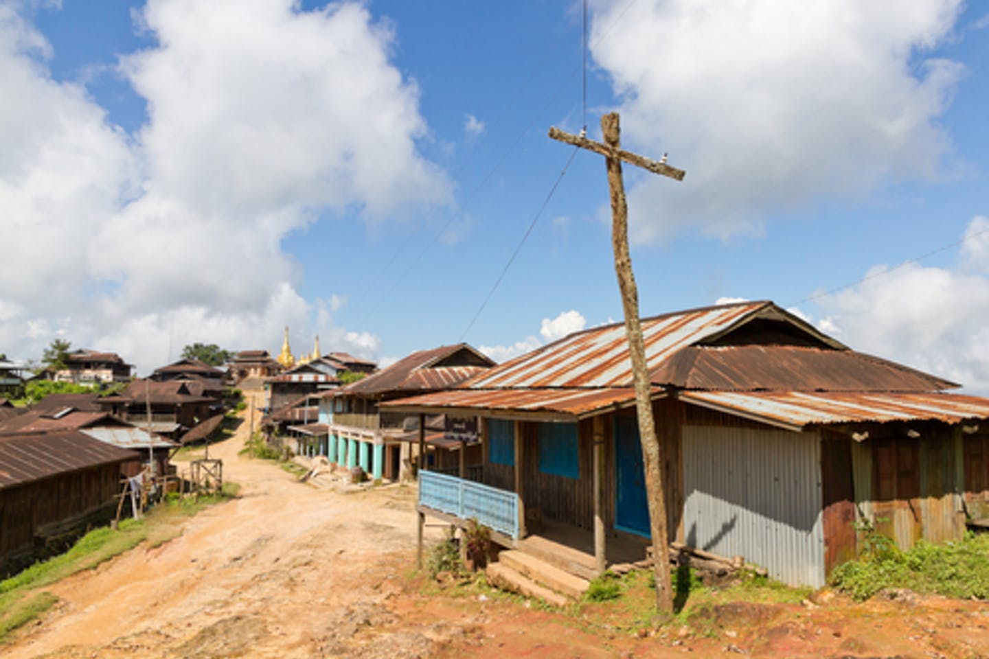 Electricity infrastructure in Myanmar