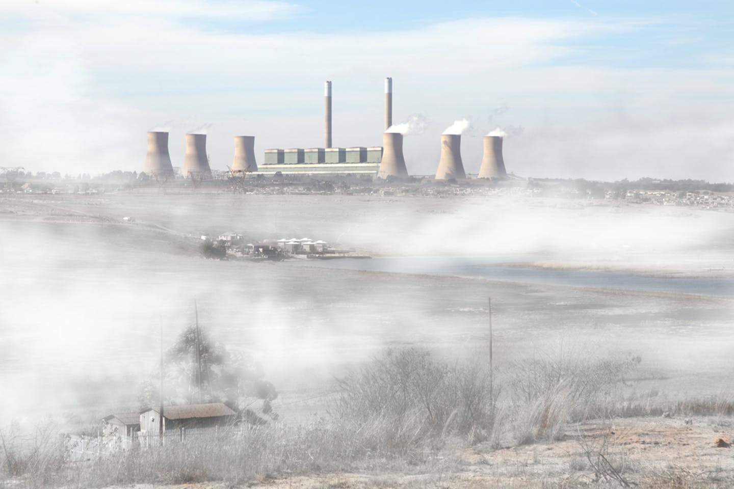 South Africa's coal-fired power plants