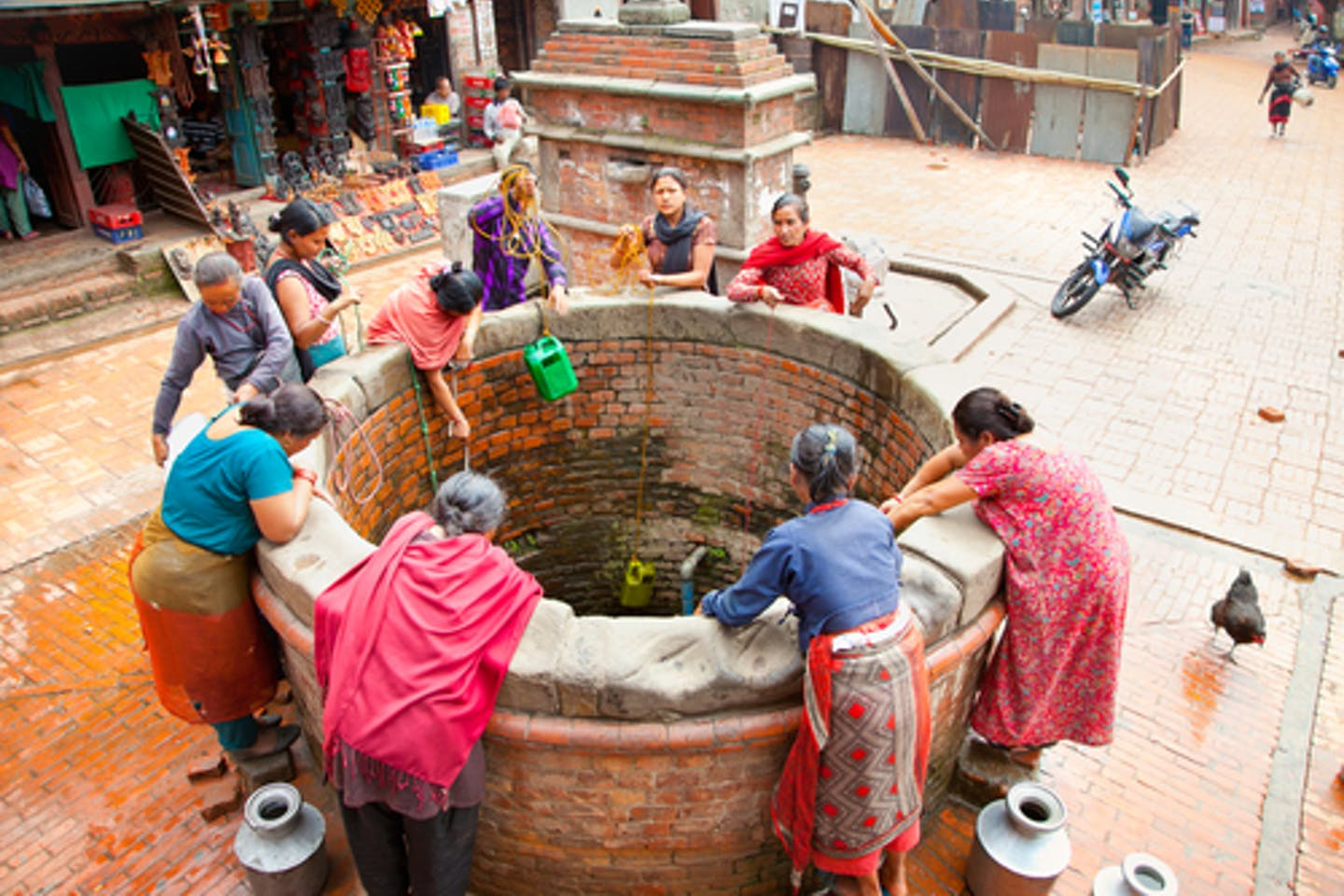 Water wells in Nepal
