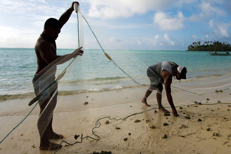 cook islands fishermen