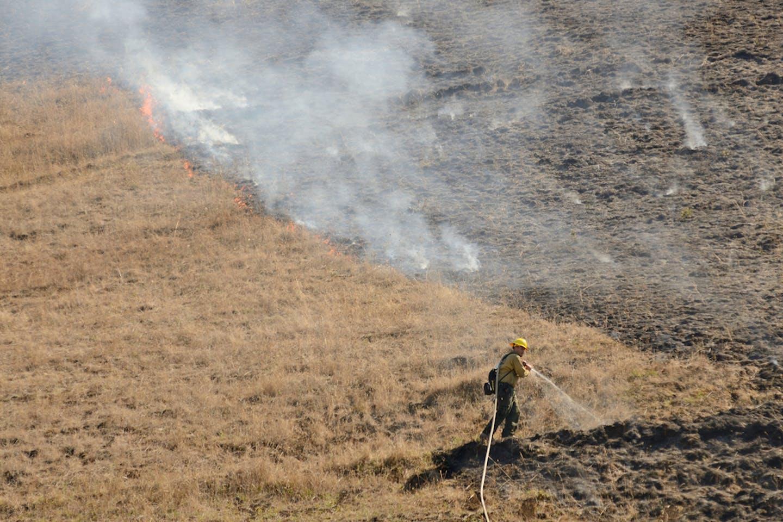 oregon grass fires