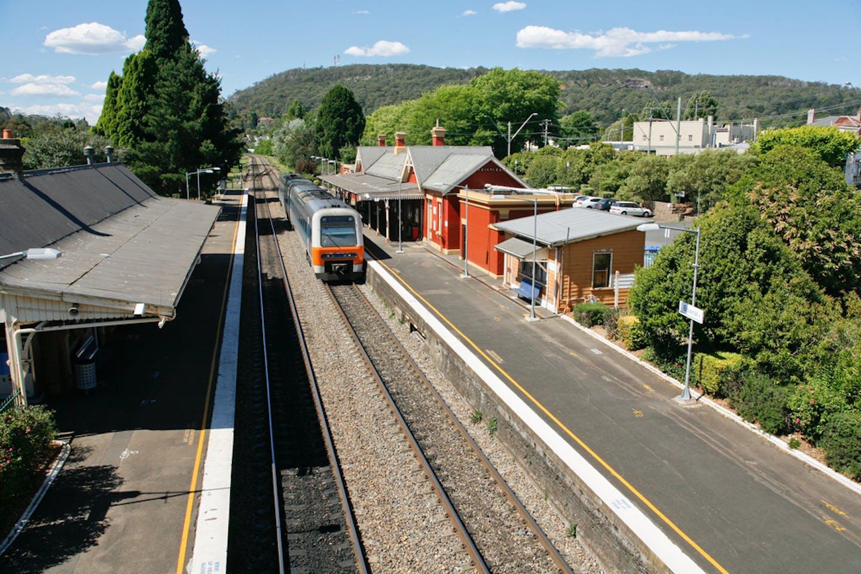 NSW train station