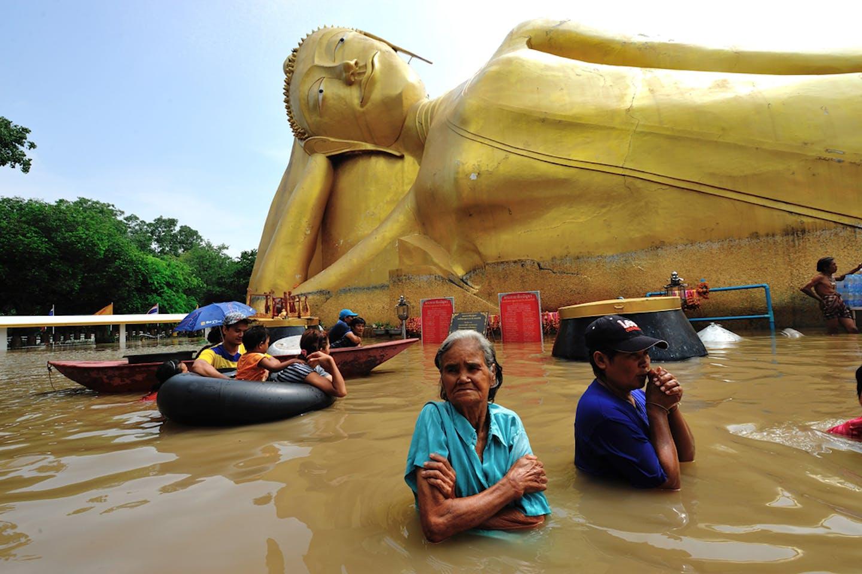 ayutthaya floods