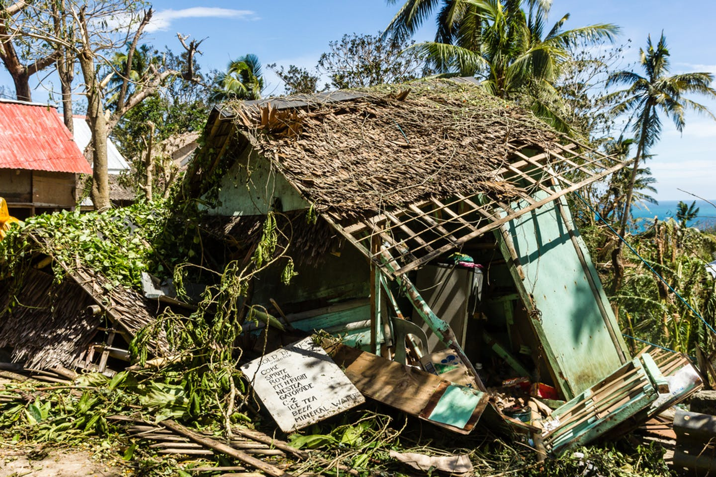 haiyan shack destroyed