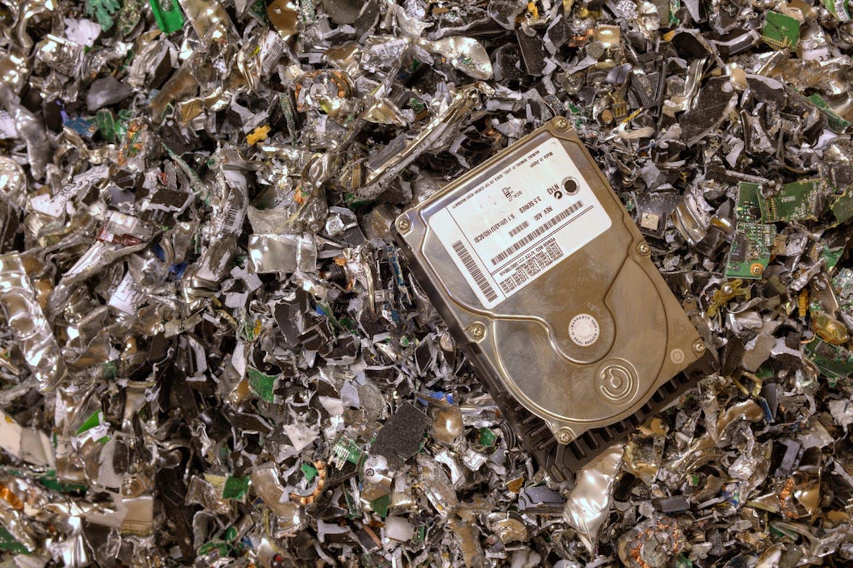 hard disk pile