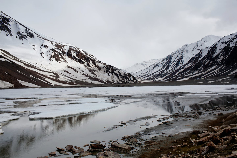 himalayas glacier ladakh