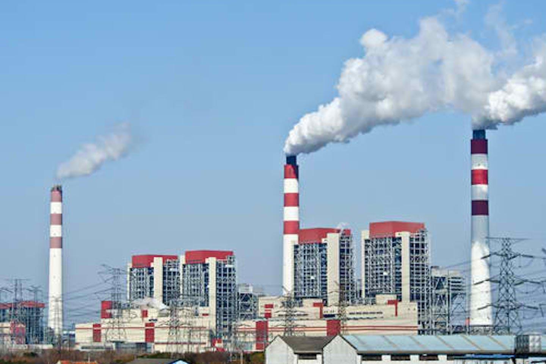 chimney power plant smoke