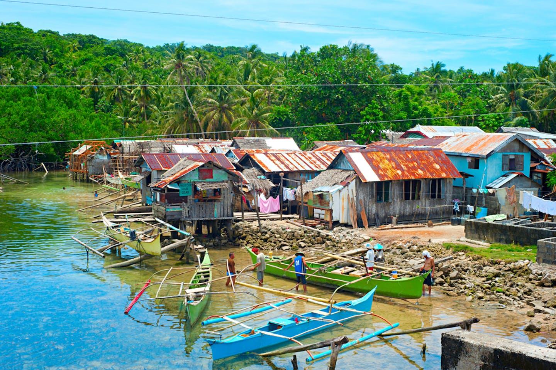 coastal village philippines