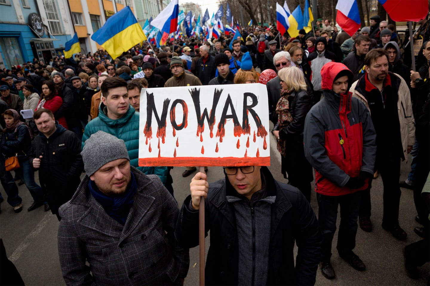 anti war protests ukraine russia