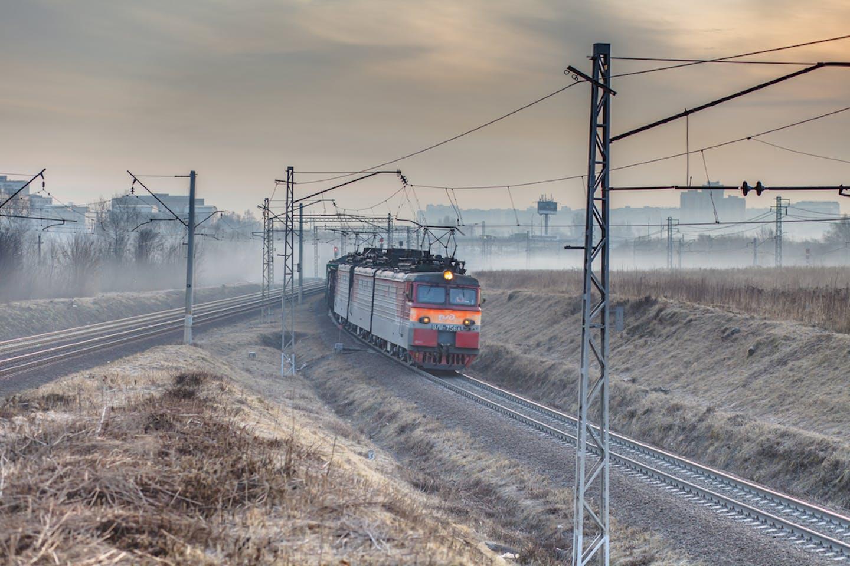 russia coal train