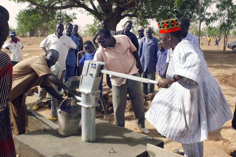 burkina faso water pump