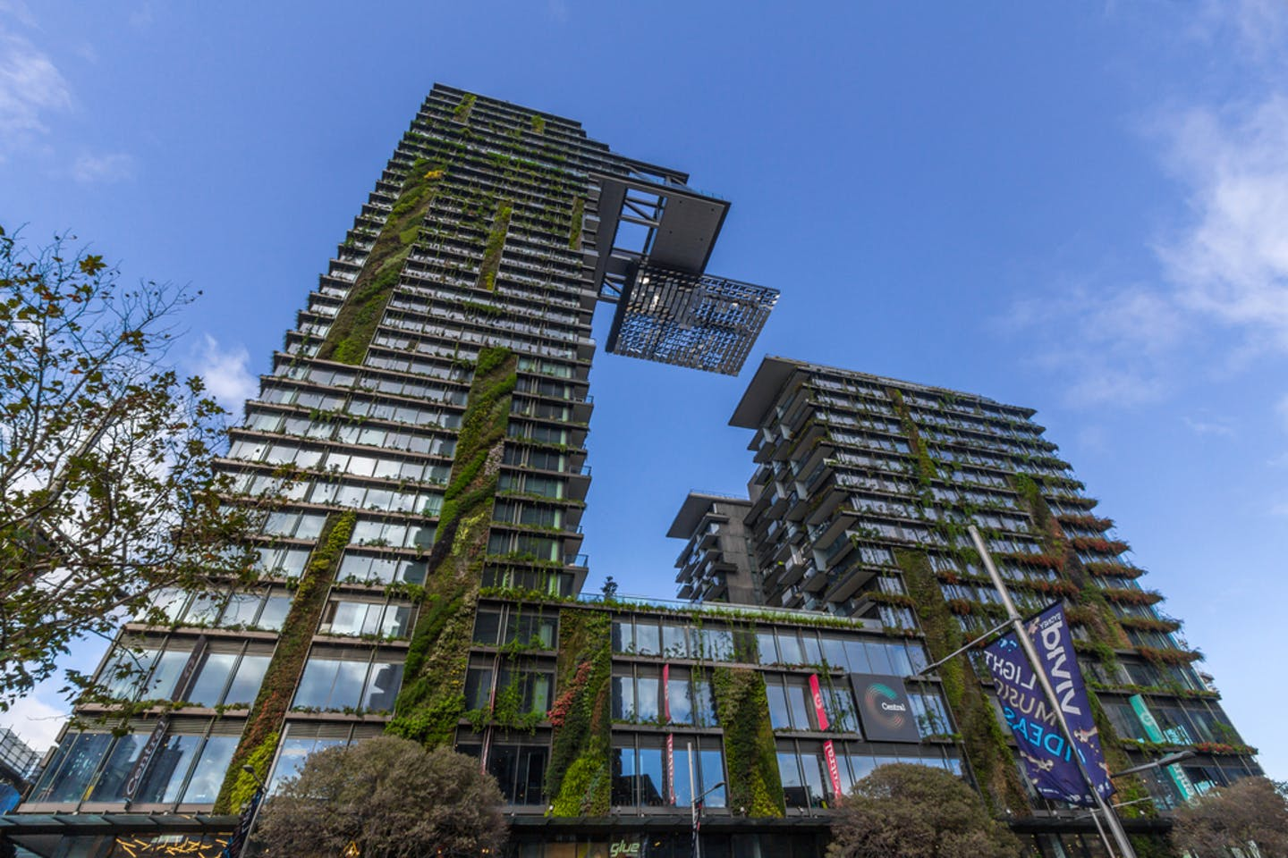 one central park sydney vertical greenery