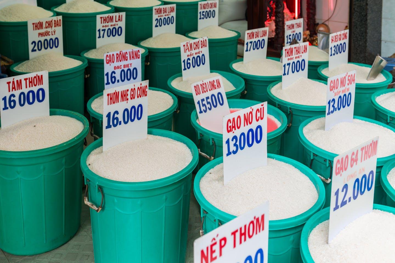 rice market ho chi minh