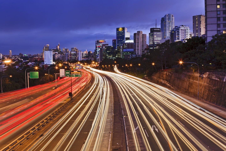 australia traffic CBD sydney