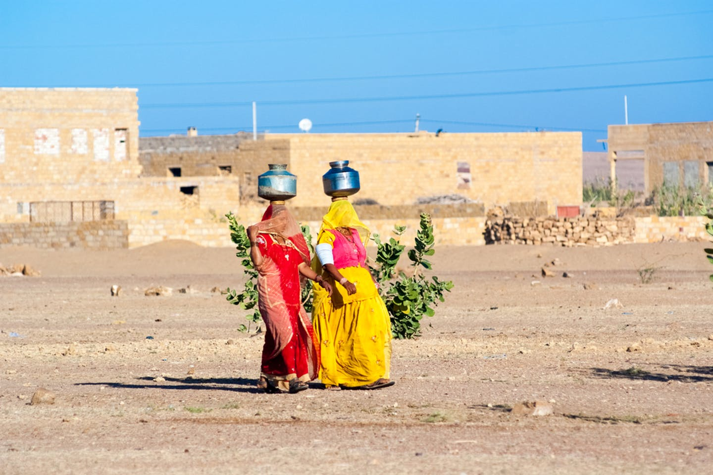 rajasthani women water