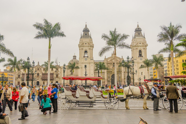 lima peru historic centre
