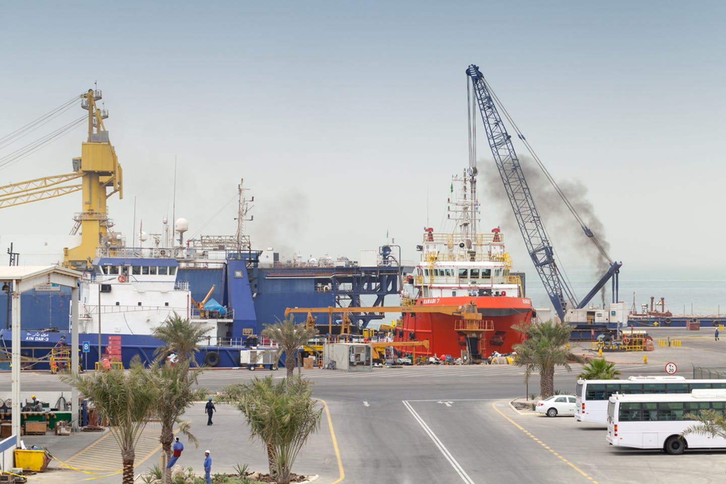saudi arabian port