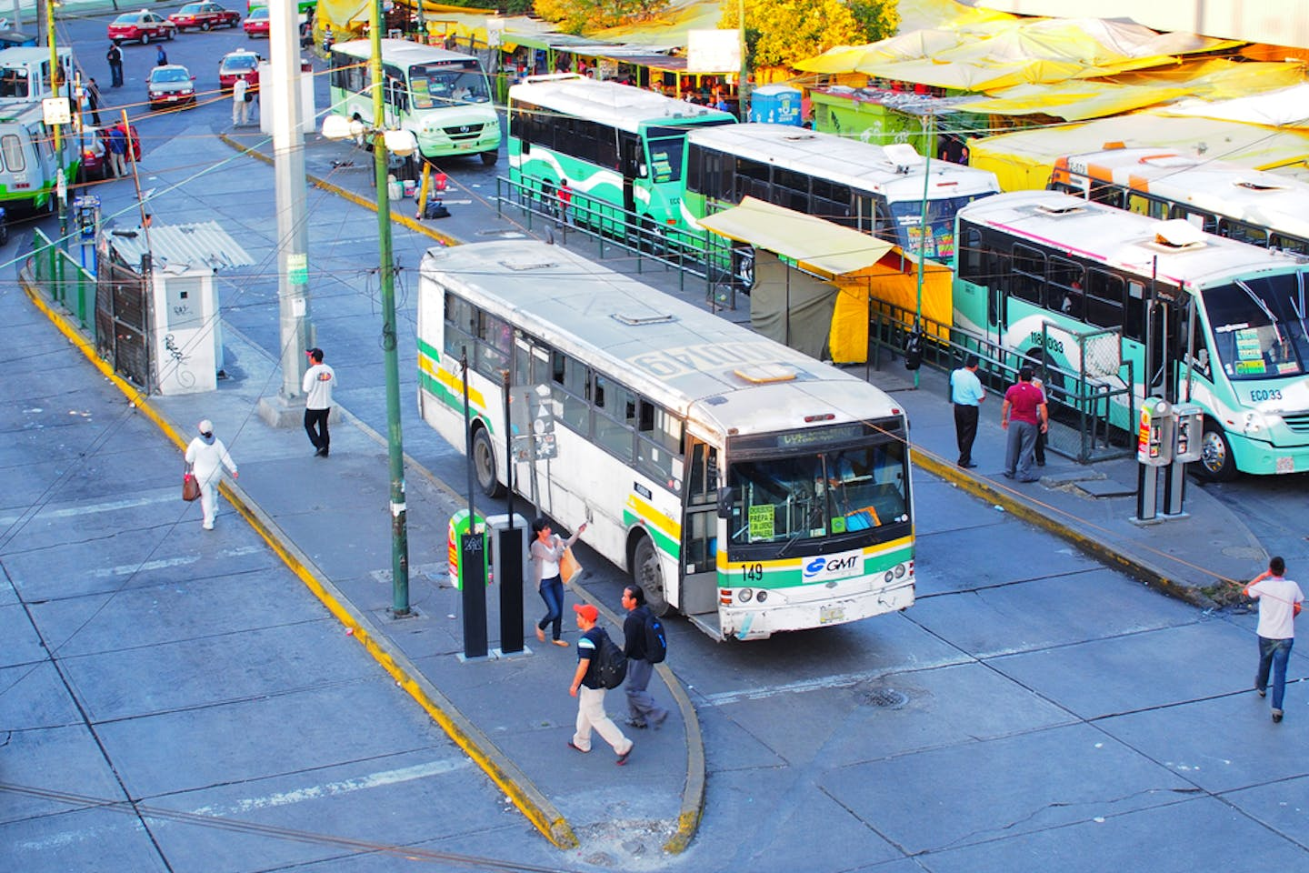 mexico bus terminus