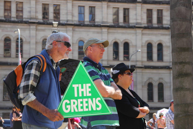 australia greens protestors