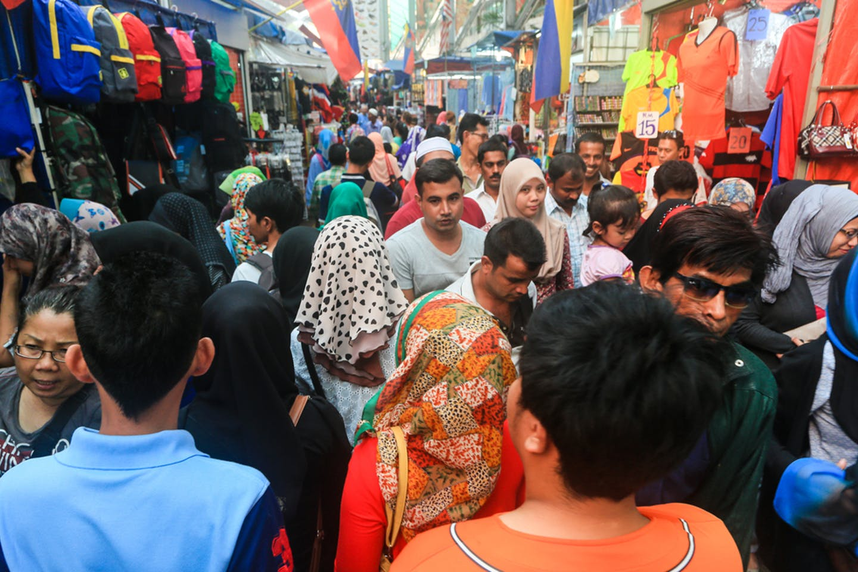 KL crowded street