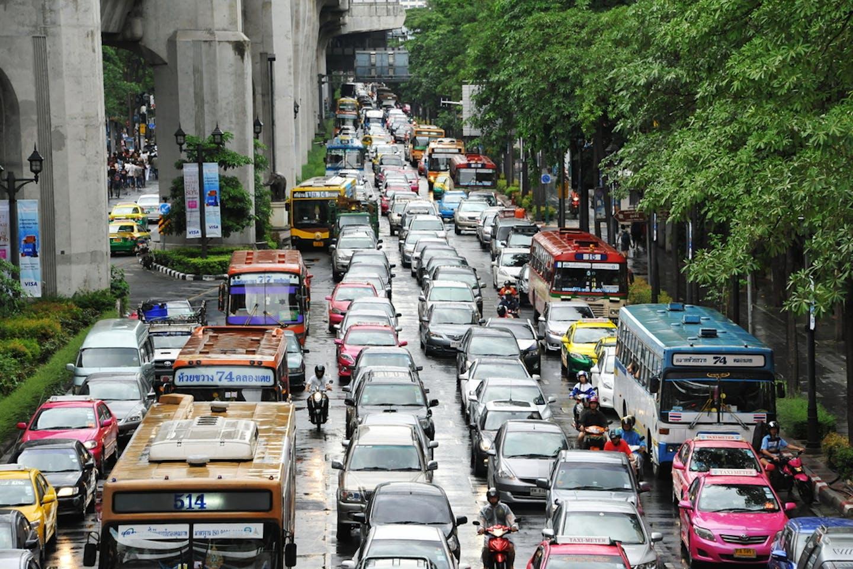 bangkok gridlock