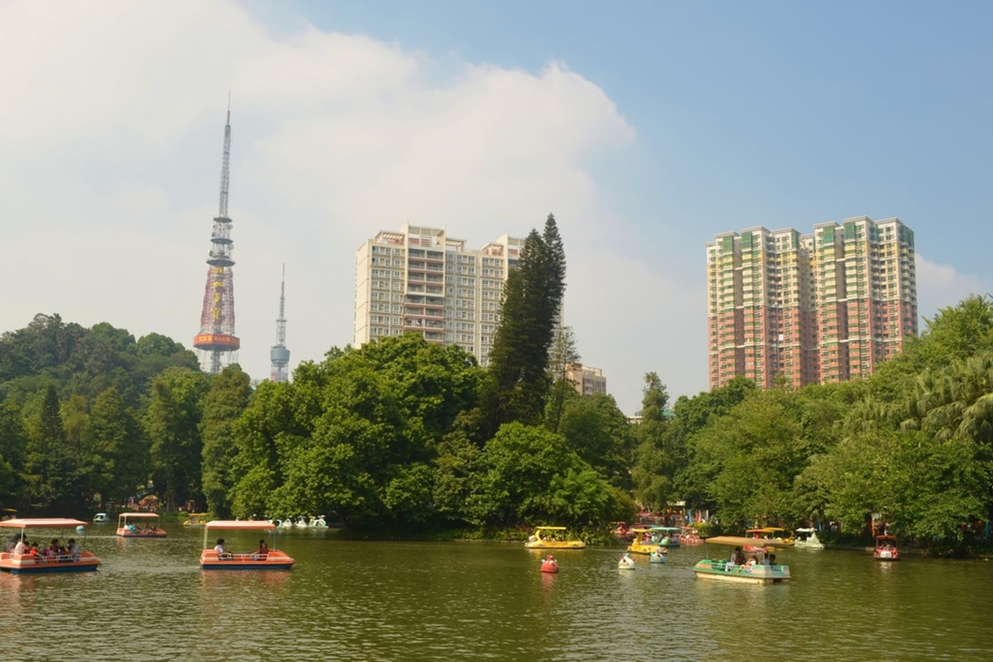 china buildings park