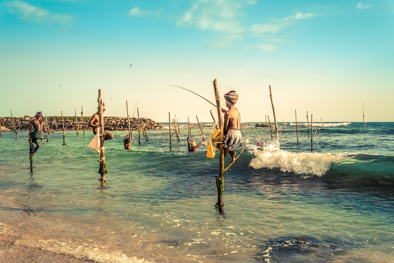 fishermen ahangama sri lanka