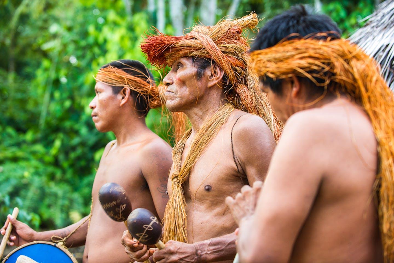 Indigenous amazonia peru