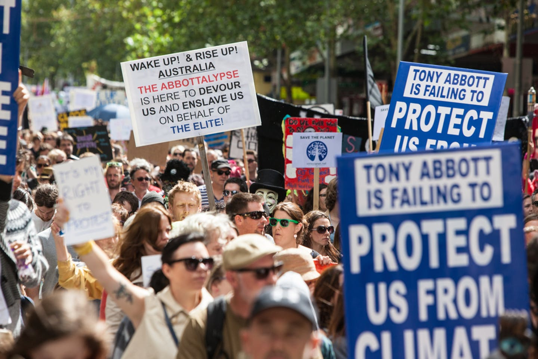 australia climate protest melbourne