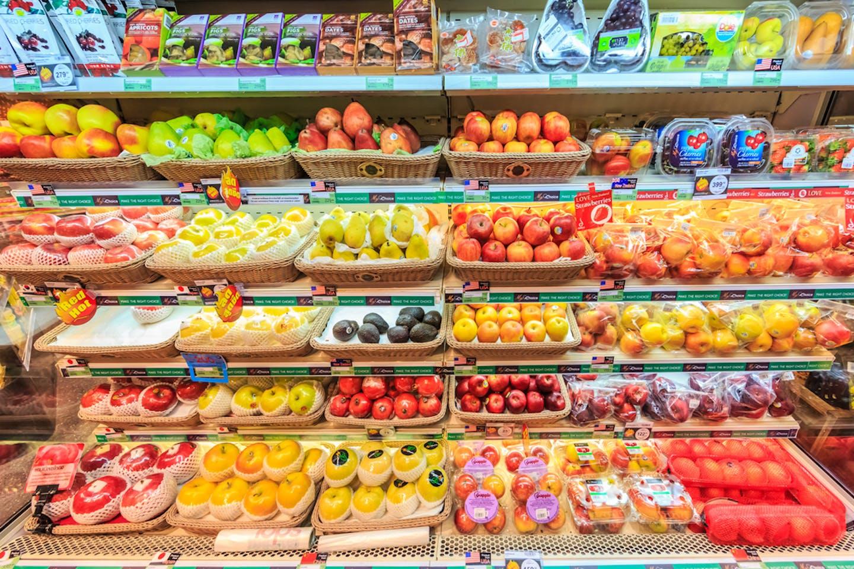 refrigerated food bangkok market