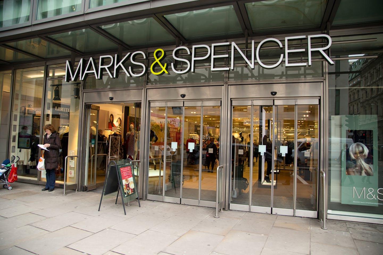 m&s storefront london