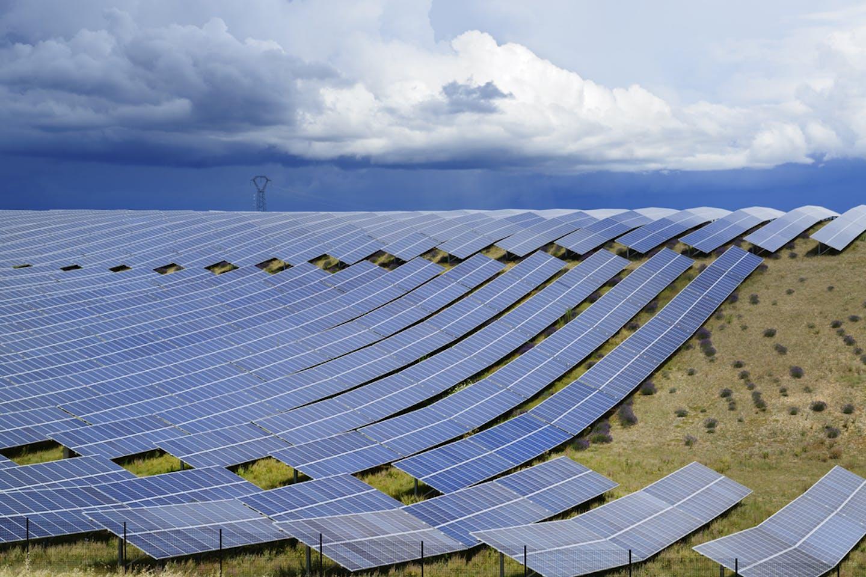 solar plant france