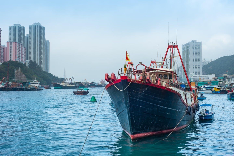 fishing trawler aberdeen hong kong