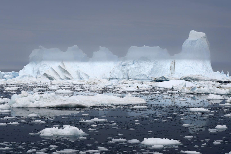 greenland glacier melt