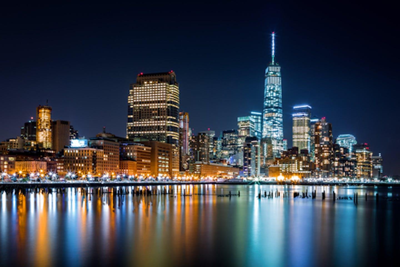 city lights us