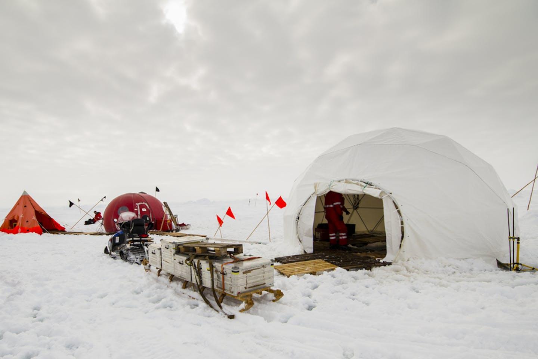 research camp antarctica