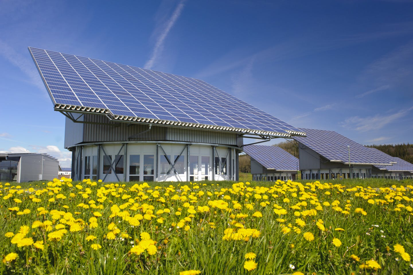 solar on industrial roof