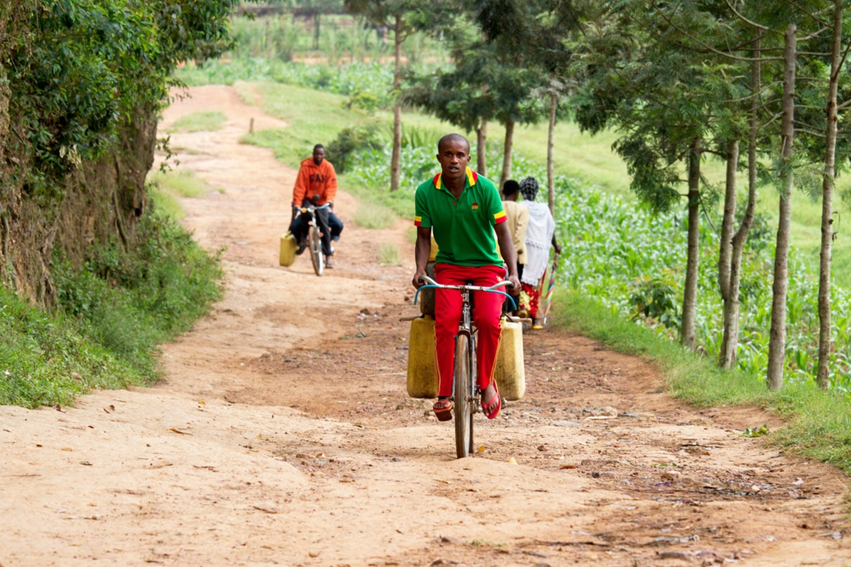 rwanda bicycle