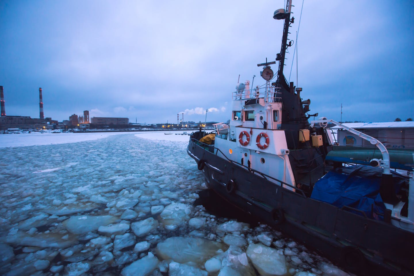 ice breaker in alaska
