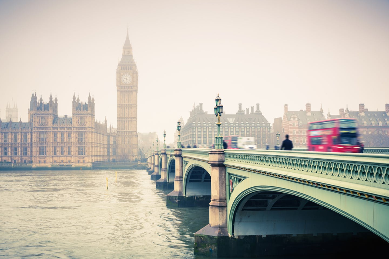london rainy