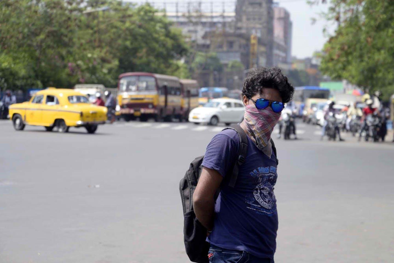 calcutta heat wave may
